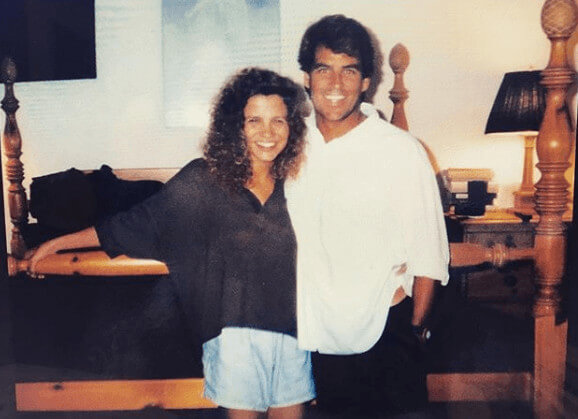 Ted McGinley With His Wife Gigi Rice